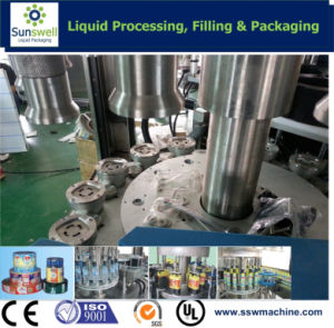 Hot Melt Glue Adhesive OPP Labeling Machine pictures & photos
