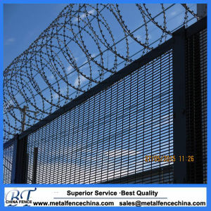 Black 358 High Security Wire Mesh Fencing pictures & photos