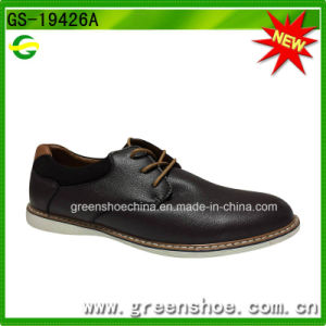 China Factory British Style Elegant Men Oxford Shoes pictures & photos