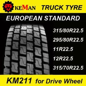 Km211 Truck Tire for Drive Wheel pictures & photos