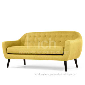 New Design Hotel Modern Fabric Sofa (3seater) pictures & photos