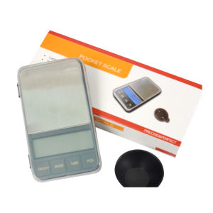 Portable Pocket Scale with AAA Battery pictures & photos