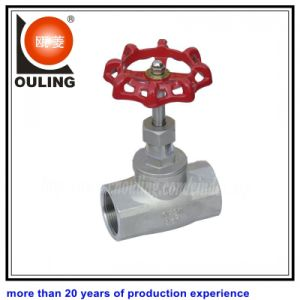 Stainless Steel Thread Globe Valve NPT BSPT Bsp End (OULING-040)