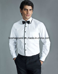 Men′s White Shirts, Free Sizes Shirt Uniforms (LA-A012) pictures & photos