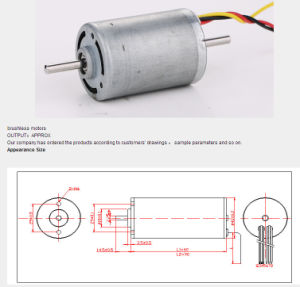 Hy-Bl4260/90 Brushless Motors pictures & photos