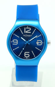 Unisex Aluminum Watch with Swiss Movement Silicone Band at Low MOQ (IT-088)