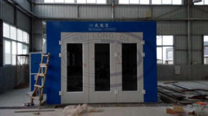 Infrared Lamp Paint Booth with Luxury Front Door Wld6000 pictures & photos