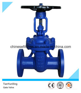 Outside Screw York A216 Wcb Casting Steel Gate Valve pictures & photos