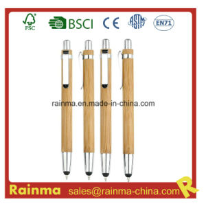 Bamboo Stylus Ball Pen for iPhone pictures & photos