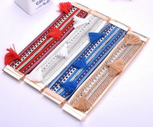 Hand-Made Woven Multilayer Combination Bracelet Fashion Jewellery pictures & photos