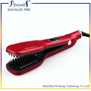 Steam Electric Brush Hair Straightener 2016 New pictures & photos