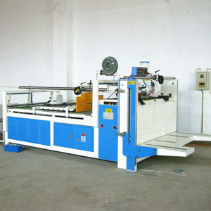Semi-Auto Corrugated Carton Box Folder Gluer Machine pictures & photos