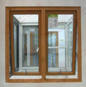 China Manufacturer of Woodgrain PVC Awning Window (BHP-WA11) pictures & photos