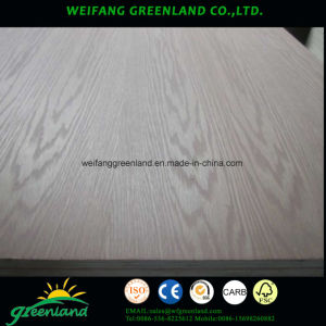 Sapele Artificial Veneer Plywoood pictures & photos