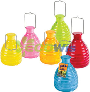 Glass Honey Pot Wasp Bee Trap pictures & photos