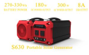 73000mAh Solar Power Generator Solar Energy Storage System Battery pictures & photos