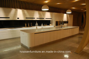 Touch Open Motor-Driven Modern Design Kitchen Furniture pictures & photos
