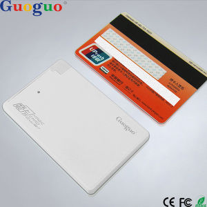 Credit Card Size Power Bank with Built-in Cable, Best Electronic Christmas Gifts 2015 Power Bank, Wallet Power Bank