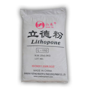 Rubberlith Zinc Sulfide and Barium Sulfate Lithopone (L-110) pictures & photos