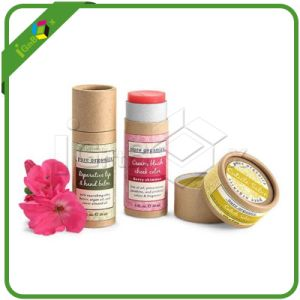 Paper Kraft Tube Box / Round Box for Candle pictures & photos