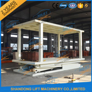 Double Platform Hydraulic Lifter Car Parking Scissor Lifter pictures & photos