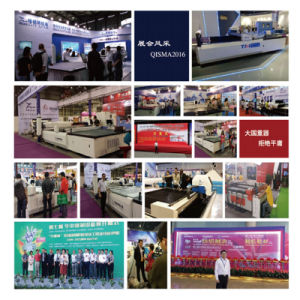 Single Layer Automatic Fabric Cutting Machine with Computer Control pictures & photos
