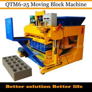 Qtm6-25 Movable Concrete Wall Block Machine pictures & photos