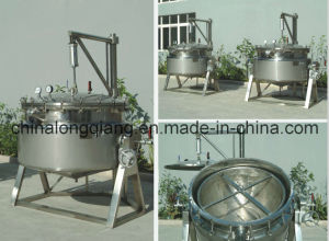 Jacket Kettle Stainless Kettle Steam Kettle Jacketed Kettle Cooking pictures & photos