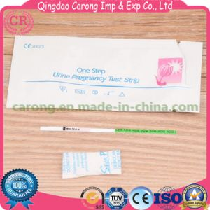 Medical High Accuracy Disposable HCG Serum Pregancy Test Strips pictures & photos