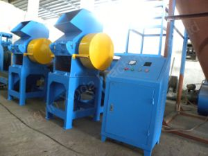 Waste Tire Recycling Rubber Block Coarse Crusher pictures & photos
