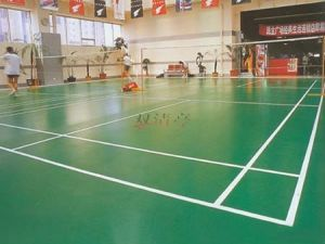 High Quality Waterproof Badminton Mat Bwf Certificate pictures & photos