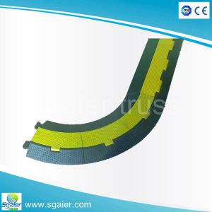 Cable Protector/100% Raw Rubber Cable Protector/2.3.4.5 Channel Cable Protector pictures & photos