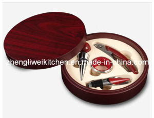 Wine Accessories in Round Box (608110) pictures & photos