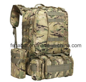 600d Outdoor Molle Gear Camo Military Sports Hiking Bag Backpack pictures & photos