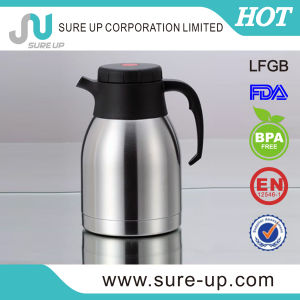 Double Layer Ss Coffee Pot for Drinking (JSUAA) pictures & photos