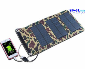 5W Camo Color Outdoor Folding Solar Charger with USB Output (FSC-05B) pictures & photos