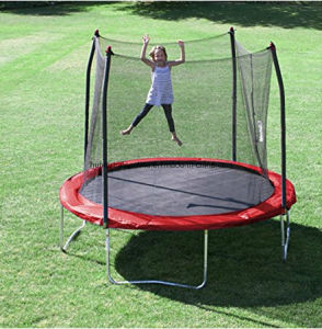 10FT Garden Play, Toy Trampline with Safety Enclosure for Adults or Kids pictures & photos