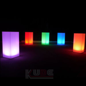Innovation Glow LED Pillar Multi Color Mood Table Flower Lamp pictures & photos