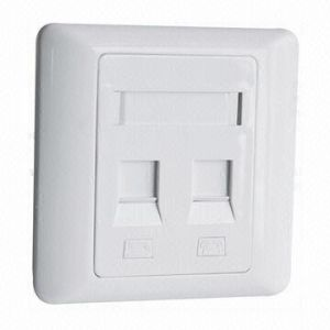 86 Type Dual Port Face Plate with Best Price pictures & photos