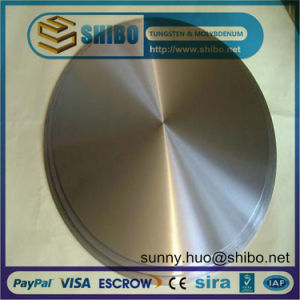 Moly Disc for Vacuum Sputtering Coating Target pictures & photos