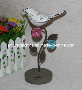 Polyresin Bird with Metal Base, Resin Bird pictures & photos