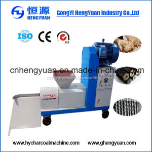 Automatic Wood Sawdust Briquette Machine for BBQ pictures & photos