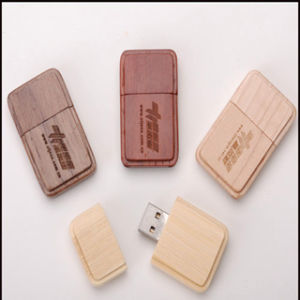 Wooden Shell USB Flash Disk with USB 3.0 Drive pictures & photos