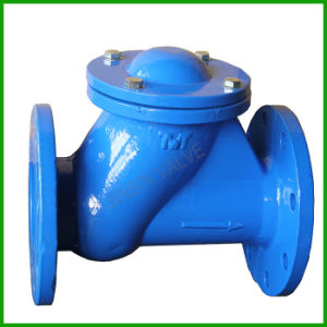 Ball Type Check Valve-Hq41X-Y Type Check Valve pictures & photos