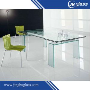 10mm Flat and Curved Tempered Glass for Furniture pictures & photos