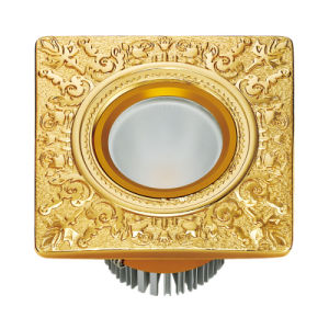 24k Gold Plated Brass Hotel LED Light pictures & photos