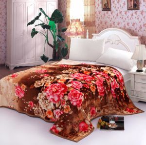 Sr-F170305-3 High Quality Two Side 100% Polyester Printed Flannel Fabric pictures & photos