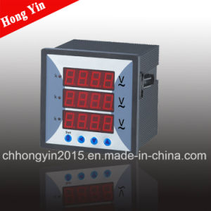 Dm96-3u 96*96 AC 10-600V Digital Voltage Meters pictures & photos