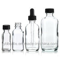 0.5oz/15ml, 1oz/30ml, 2oz/60ml, 4oz/120ml Amber Boston Round Glass Bottle Manufacturer pictures & photos