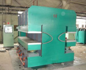 Rubber Machine Hydraulic Press Vulcanizer Rubber Machine pictures & photos